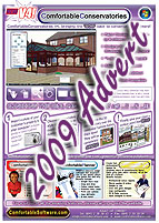 Right click here and select 'save as' to download the ComfortableConservatories v4 advert to your computer for viewing.