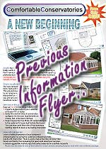 Right click here and select 'save as' to download this prior version of the ComfortableConservatories flyer to your computer for viewing.