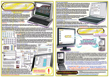 Right click here and select 'save as' to download the ComfortableStyle Flyer to your computer for viewing. Size 1.2mb.