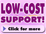 Click for more information on our low-cost support contract with unbelievable FREE SOFTWARE OFFER!