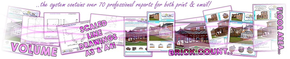 Comfortable Conservatories. Window industry Conservatory software with over 70 professional, stunning reports.