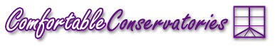 The ComfortableConservatories conservatory software logo.