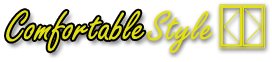 ComfortableStyle logo. Low-cost powerful presentation & sales software for windows, doors, bays, conservatories & other miscellaneous items.
